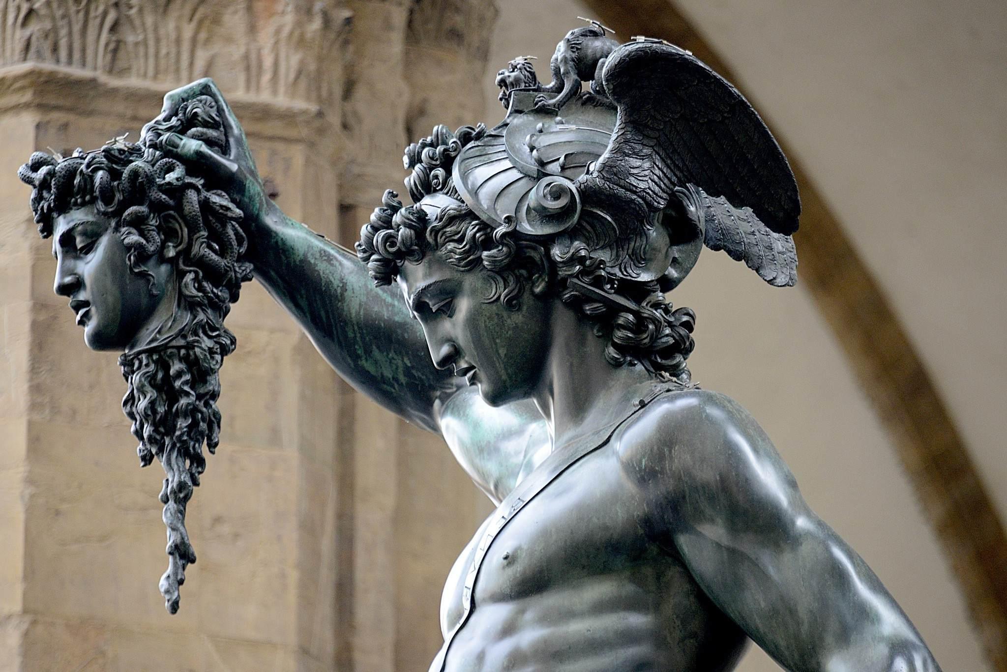 Medusa capturada por Perseo